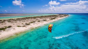 Kiting in paradise